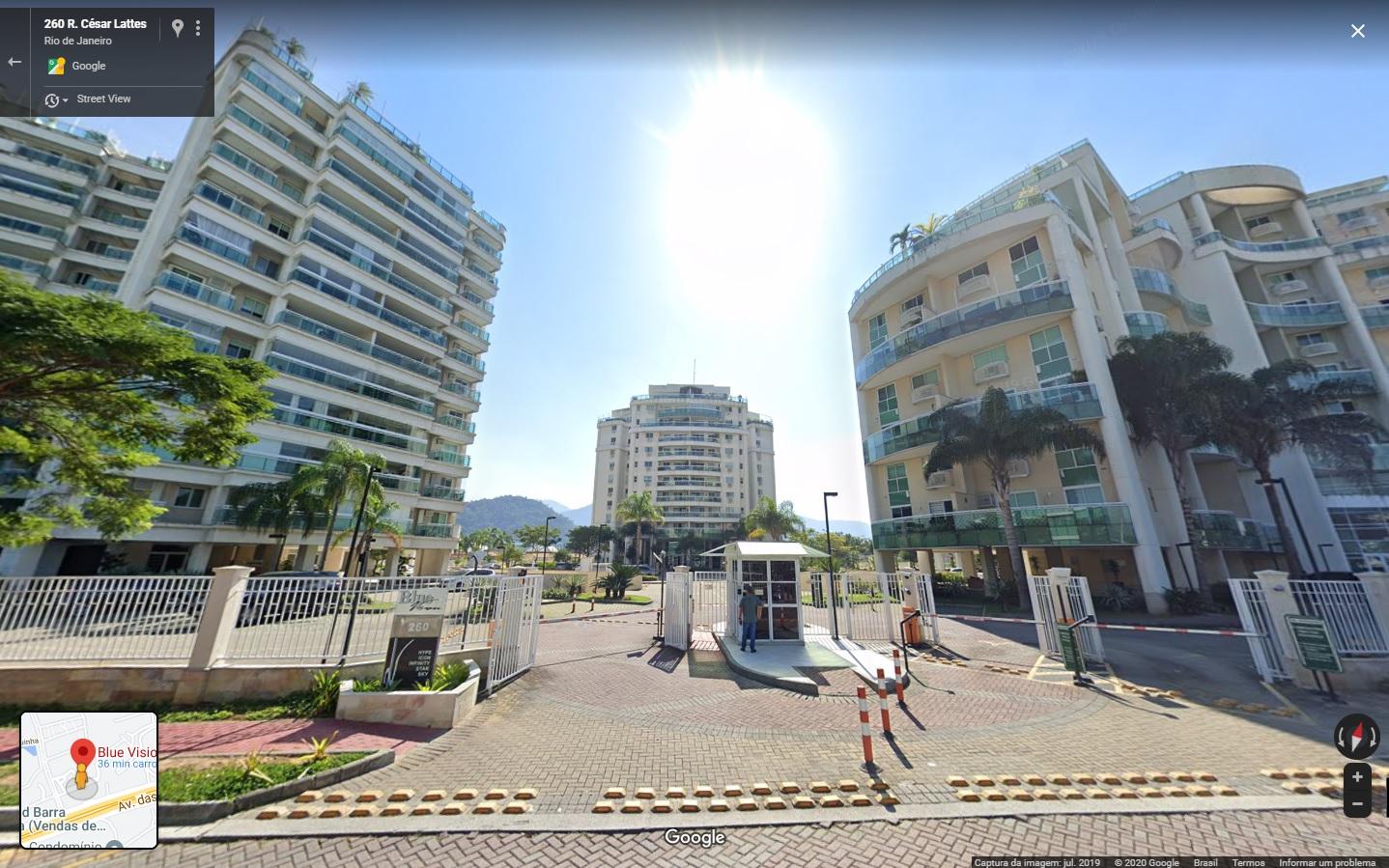 Apartamento Blue Vision Barra - 5ªVFam Méier - Proc 0007171-78.2011
