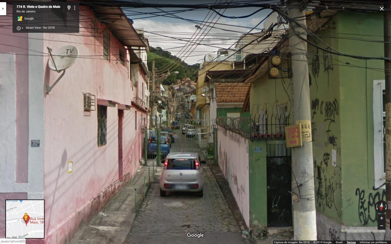 54ª VARA DO TRABALHO DO RJ. CASA NA RUA 24 DE MAIO, SAMPAIO E CADEIRAS