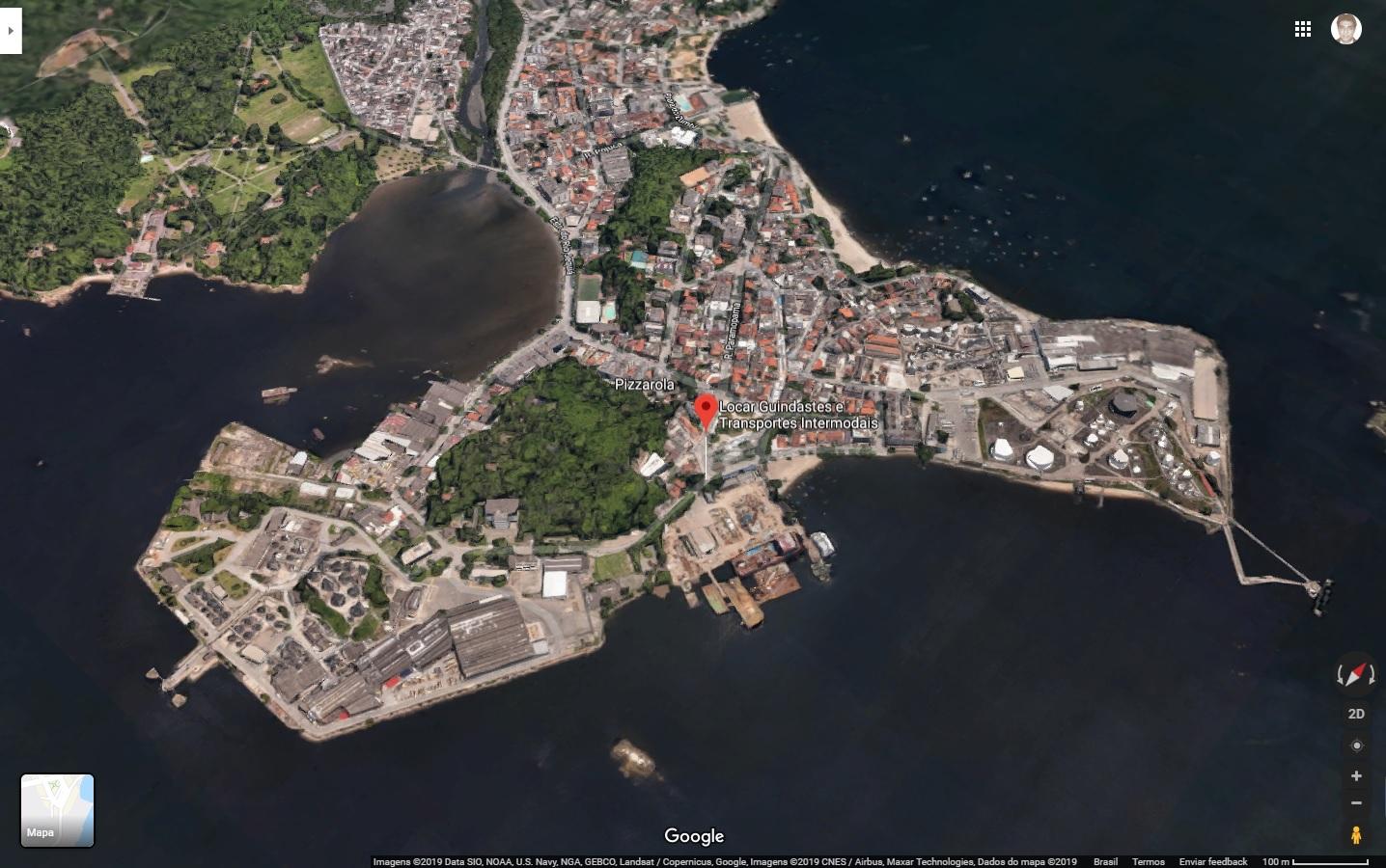 Estaleiro - ilha do Governador - 7.394,00m2 + 2.465,00m2 edificados