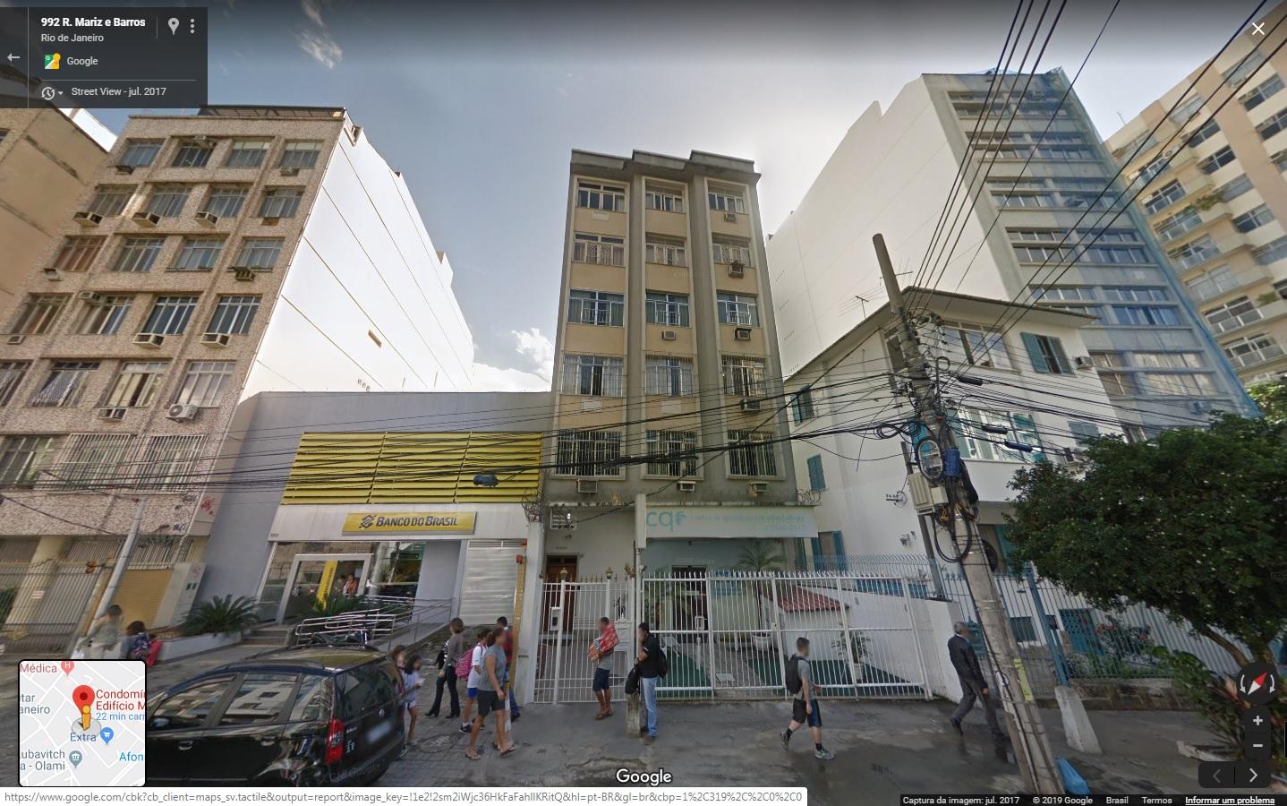 3/6 do Apartamento 201, Rua Mariz e Barros, n° 992, Maracanã